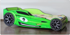 Pat copii  Hot Wheels Green